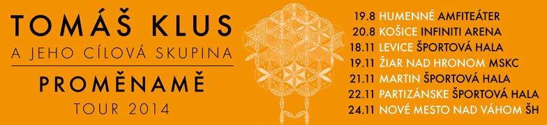 Tomáš Klus turné 2014