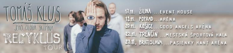 Tomáš Klus - RECYKLUS TOUR 2016
