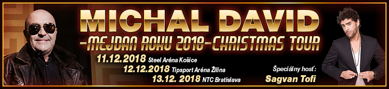 Michal David - Mejdan Roku 2018 - Christmas Tour